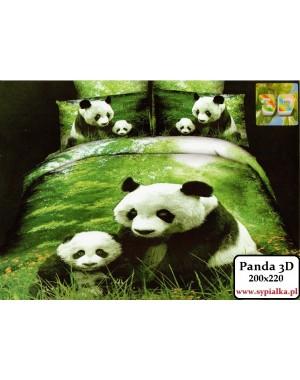 Pościel Panda 3D Pandy