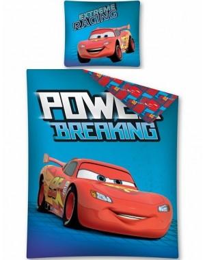 Pościel Autka Cars Niebieska 160x200 Disney licencyjna