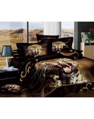 Pościel 3D Groźny Gepard 160x200