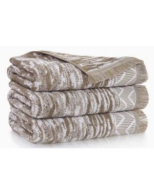 Ręcznik Indiana Beżowy 70x140 frędzle