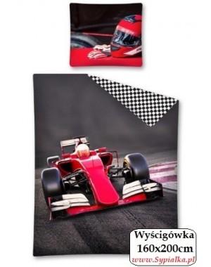 Pościel 3D Formuła 1 - wyścigówka 160x200cm