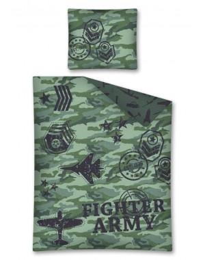 Pościel wojskowa moro 160x200 khaki