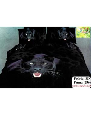 Pościel 3D Puma 2 Pantera 160x200