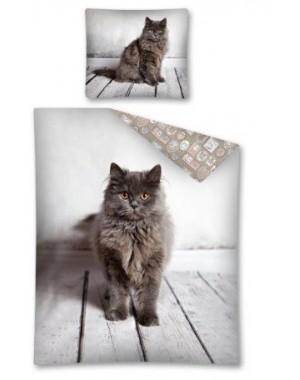 Pościel Kotek 160x200 licencyjna The cat bawełniana