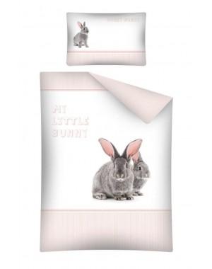 Pościel Zajączek 100x135cm króliczki