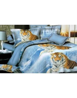 Pościel 3D Tygrys w śniegu...