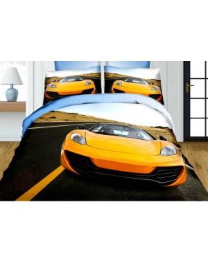 Pościel 3D Sportowe auto...