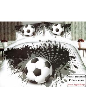 Pościel Czarno-biała Piłka...
