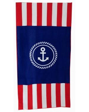 Ręcznik marynarski kotwica...