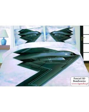 4cz. Pościel 3D Samolot...