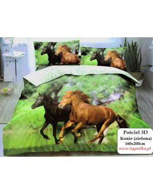 4cz Pościel 3D Konie w...