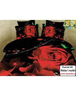 Pościel 3D Czerwone róże...