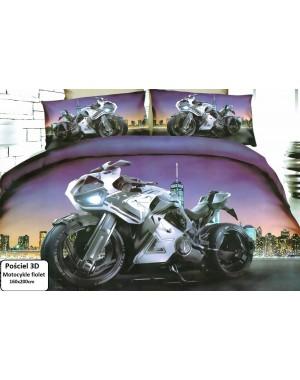 Pościel 3D Motocykl ścigacz...