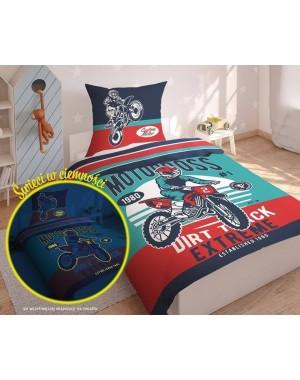 Pościel Motocykl cross...