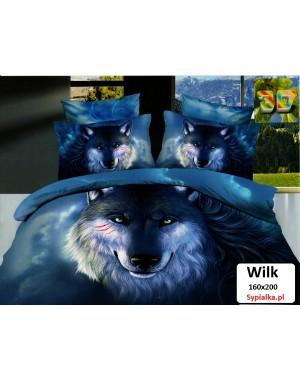 Pościel 3D Wilk 160x200