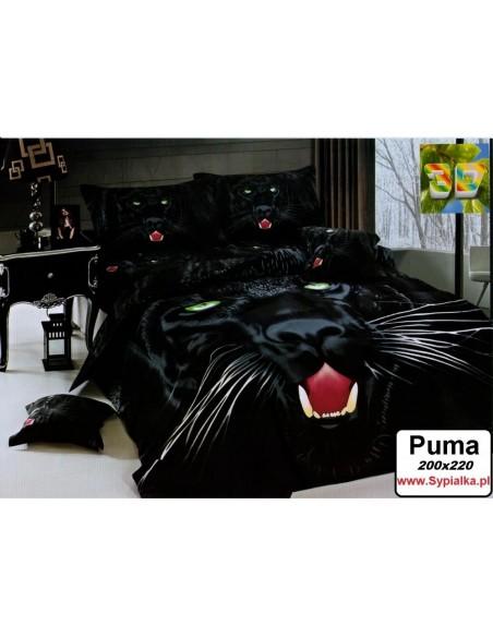 Pościel 200x220 3D Puma